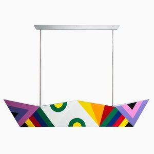 Deriva Decoration 3 Hanging Lamp by Alessandro Mendini
