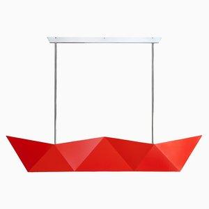 Lámpara colgante Deriva Fluorescent Orange de Alessandro Mendini