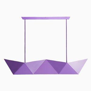 Lampada Deriva violetto di Alessandro Mendini