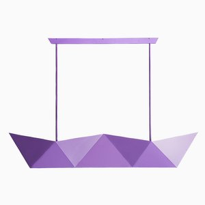 Lámpara colgante Deriva Pearl Violet de Alessandro Mendini