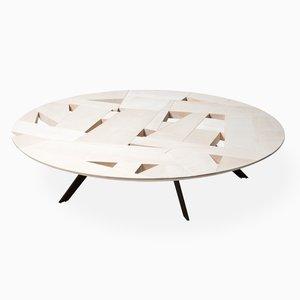Table Basse Tamiso Round Low Table, Modèle T1423, Ronde par Marco Zanuso Jr.