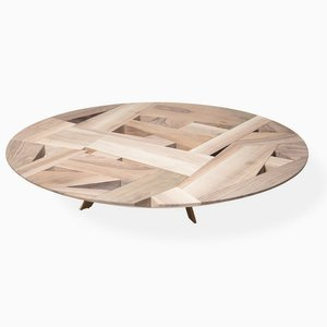 Tamiso T1413 Round Low Table by Marco Zanuso Jr.