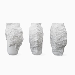 Vases Hacking the Mould Vases par Noam Dover & Michal Cederbaum, Set de 9