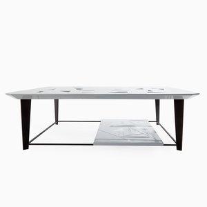 Table Basse Tamiso Squared Low Table, Modèle T1406, Carrée par Marco Zanuso Jr.