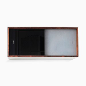 Vintage Rosewood & Glass Storage Box by Kai Kristiansen