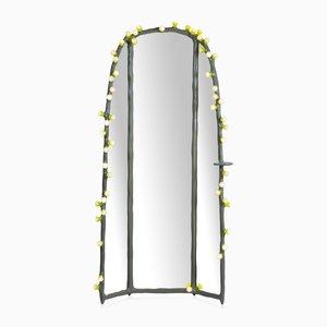 Miroir en Pied LEDs Clay par Bertjan Pot et Maarten Baas pour DHPH
