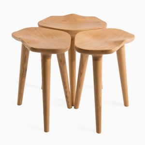 Set of 3 Tam Stools by Caterina Moretti