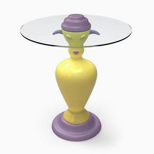 PETit Table Poupée par Anna Gili