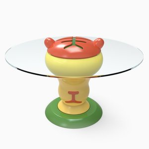 Tiger PETit Table by Anna Gili