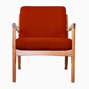 Kvadrat Customizable Teak Easy Chair by Ole Wanscher for France & Søn