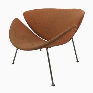 Vintage Orange Slice Lounge Chair by Pierre Paulin for Artifort, 1960s