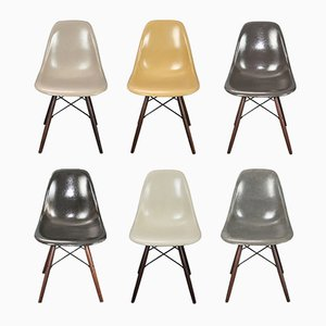 Chaises parCharleset Ray Eames pour Herman Miller, Set de 6