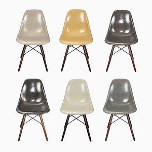 Sedie di Charles & Ray Eames per Herman Miller, set di 6