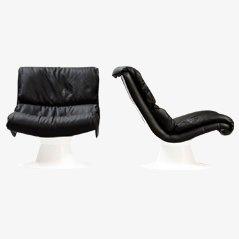 Saturn Chairs von Yrjö Kukkapuro für Haimi, 2er Set