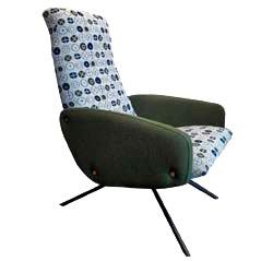 Vintager Sessel, 1950er
