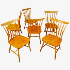 Sedie da pranzo di Bengt Akerblom, set di 6