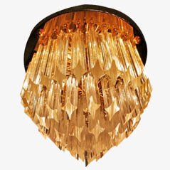 Pendant Light from Venini, 1970s