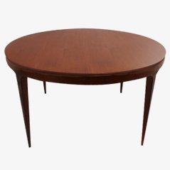 Tavolino da caffè di Ole Wanscher per A.J. Iversen, 1957