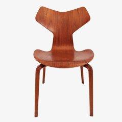 Grand Prix Stuhl von Arne Jacobsen für Fritz Hansen, 1957