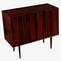 Rosewood Cabinet by Kai Kristiansen for Feldballes, 1950s