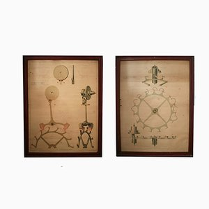 Affiches Antiques Industrielles, Set de 2