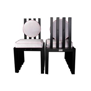 Italian Ennesima Chairs by Dr. Federico Greca, Set of 2