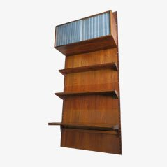 Danish Rosewood Modular Wall Unit by Kai Kristiansen for Feldballes Møbelfabrik