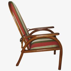 Easy Chair Morris par Otto Prutscher pour Thonet, 1905