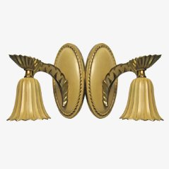 Vintage Wall Sconces, 1920, Set of 2