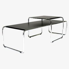 Laccio Table Set by Marcel Breuer for Knoll International, 1960s