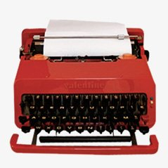 Valentina Typewriter by Ettore Sottsass and Perry A. King for Olivetti-Ivrea, 1969