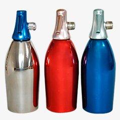 Italienische Siphonflaschen von Sergio Asti für Saccab, 1959, 3er Set
