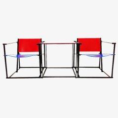 Tavolo TM61 e sedie FM60 di Pastoe