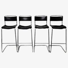 Bar Stools by Marcel Breuer for Thonet, Set of 4