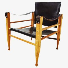 Danish Safari Chair, 1960s