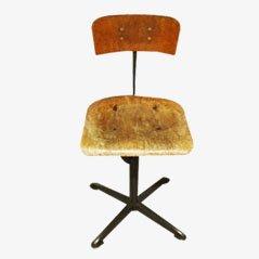 Belgian Industrial Office Chair, 1950s