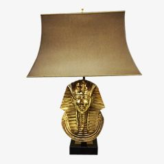 Pharaoh Table Lamp from Maison Jansen, 1970s