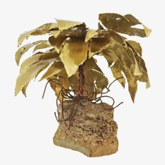 Scultura albero di palma di Daniel Dhaeseleer, anni '60