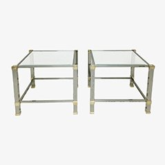 Side Tables by Pierre Vandel, Set of 2