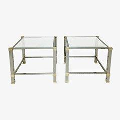 Side Tables by Pierre Vandel, Set of 2