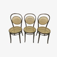 Daum Café Chairs from Thonet, Set of 3