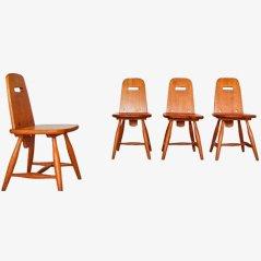 Chaises de Salon Pirtti par Eero Aarnio pour Laukaan Puu, Set de 4