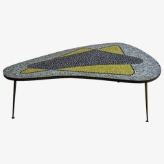 Kidney-shaped Mosaic Table, 1960s