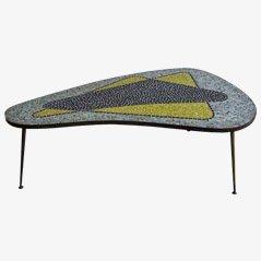 Nierenförmiger Mosaik Tisch, 1960er