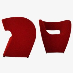Indoor Little Albert Lounge Chairs by Ron Arad for Moroso, Set of 2