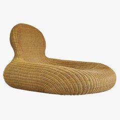 Storvik Rattan Lounge Chair by Carl Öjerstam for Ikea