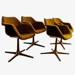 Chairs by Robin Day for Overmann, 1960s, Set of 4