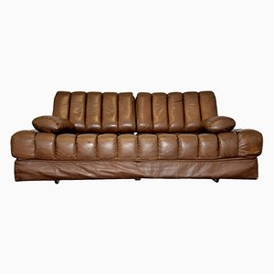 Swiss DS 85 Brown Leather Daybed from de Sede, 1960s