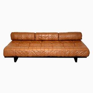 Sofá cama DS 80 suizo vintage de De Sede, años 60