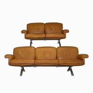 Vintage DS 31 Sofas von De Sede, 1970er, 2er Set